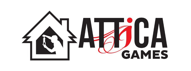 Attica Games Logo. Home of Shiver Miniatures and Shiver: The Game